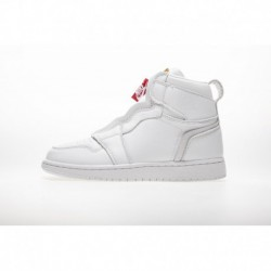 White zipper air jordan 1 retro high zip white aq3742-116-