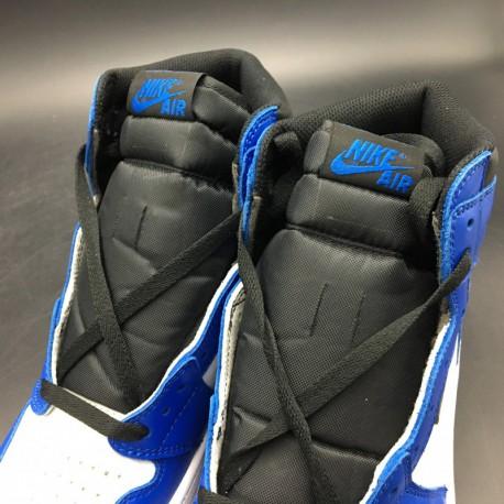 sale retailer 159bb 34e83 New Sale 555088-403 Air Jordan 1 Retro High OG Game Royal White Blue  Colorway Super Original