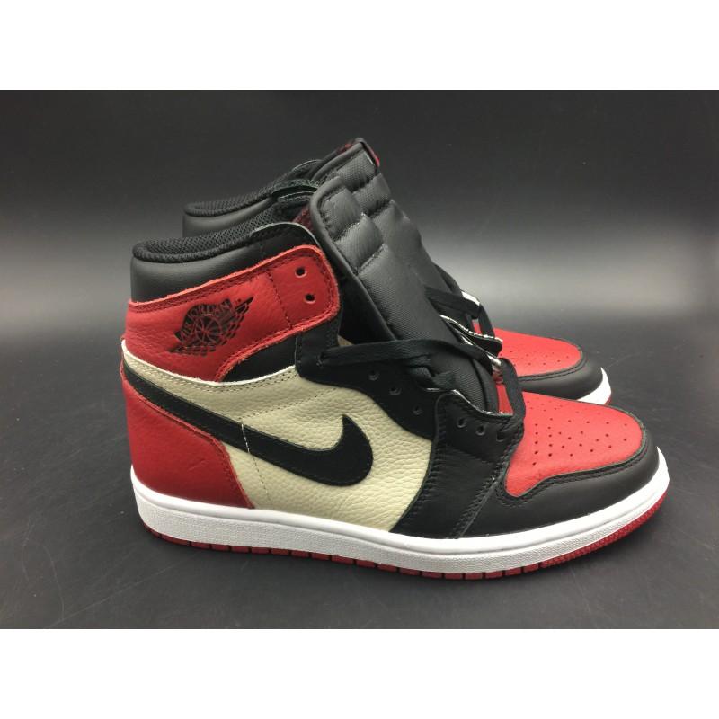 ... Air Jordan 1 Retro High OG Bred Toe Black Toe Litchi 555088-61 ... 92fb1ec2a