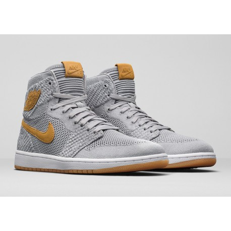 best sneakers 713c9 3b2a1 Air Jordan 1 Retro High Flyknit Wolf Grey,Nike Air Jordan 1 Flyknit Wolf  Grey,919704-025 Air Jordan 1 Retro High Flyknit Wolf G