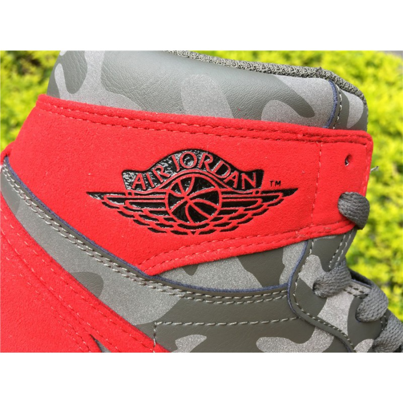 buy popular 6a043 81d39 ... Aa3993-034 Air Jordan 1 Camo PACK Air Jordan 1 Red Grey Camouflage 3m  Underply ...