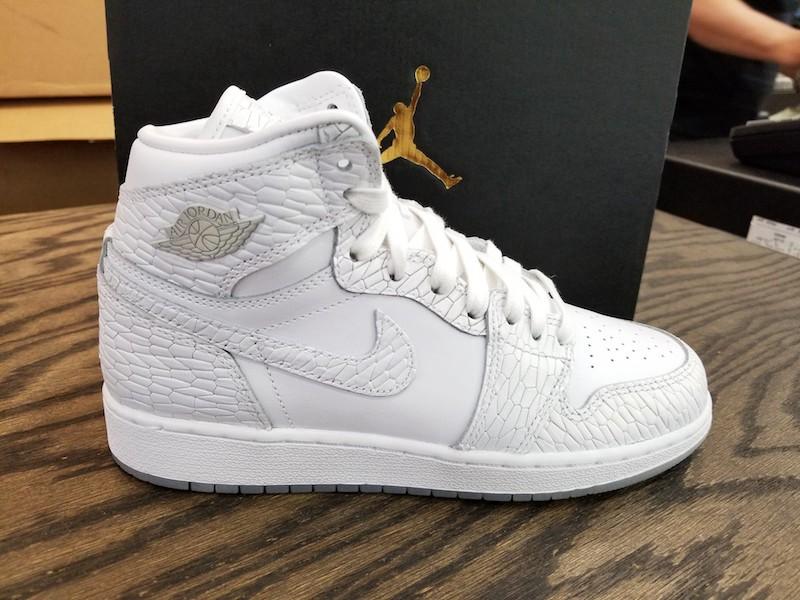White,Air Jordan 1 Retro High