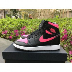 Air-Jordan-1-Retro-High-Gg-Vivid-Pink-Jordan-Aj1-MID-Pink-332148-019-Air-Jordan-1-GS-Vivid-Pink-AJ1-Black-Powder