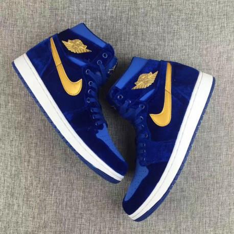 698911009d8895 New Sale Air Jordan 1 Velvet 36-45 832596-00