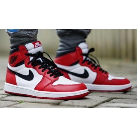 meilleur site web fa5e9 72438 Nike Air Jordan 1 Chicago,Air Jordan 1 Retro Chicago,Nike Air Jordan 1 OG  Chicago AJ1 Chicago Original 555088-101