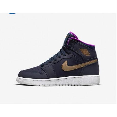 0626fea72bba New Sale Nike Air Jordan 1 HIGH GS Aj1 Purple Powder Maya Moore 332148-42