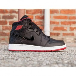 Aj1-Retro-High-OG-Bred-Toe-Air-Jordan-1-Retro-High-Premium-Womens-Air-Jordan-1-RETRO-HIGH-GS-AJ1-Bred-Womens-705300-021