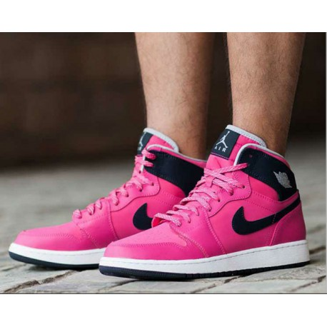 Air Jordan 1 High GS Aj1 Valentine's Day Female Models 332148-008-60