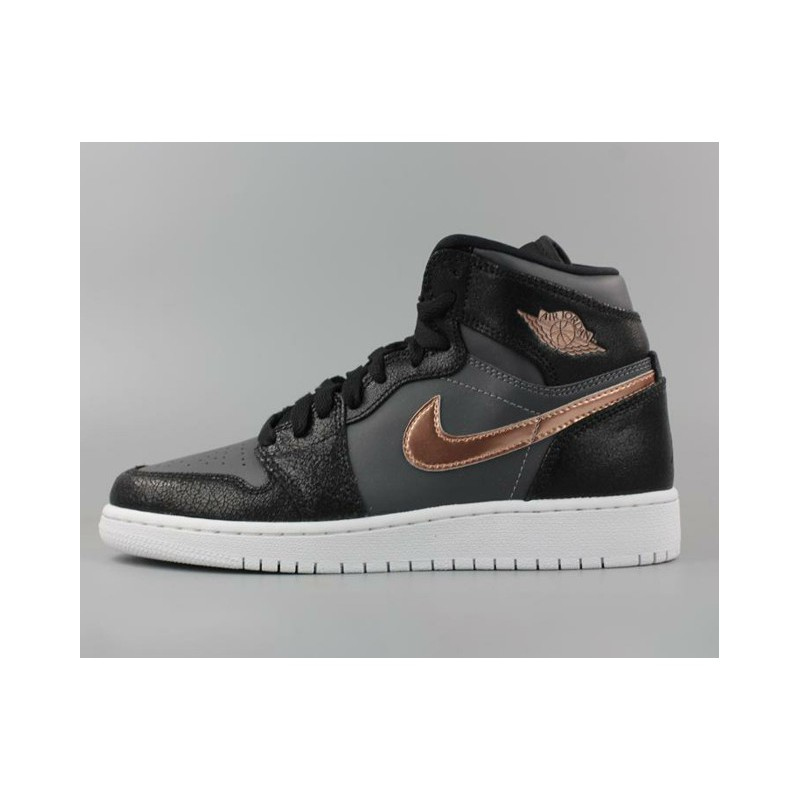 1de3a61acee78b Nike air jordan 1 high aj1 olympic black gold women s 705300-00