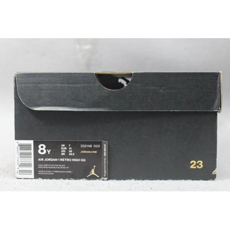 Jordan AJ 1 Mid - Boys' Toddler - Basketball - Shoes - Black/Black