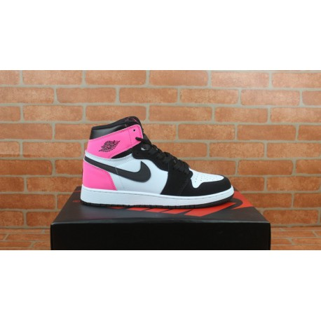 huge discount 5daf7 453f8 New Sale Air Jordan 1 Black And White Powder Valentine s Day 3m Underply  Visible Outside Factory Lacing Standard