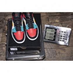 Four-color air jordan 1 mid multi-color 554724-12