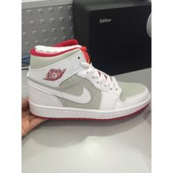 Nike air jordan 1 mid hare aj1 bunny eight-hole male 719551-12