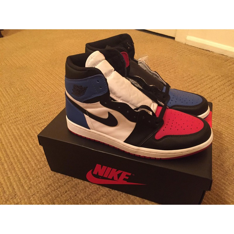 Air Jordan 1 Blue Red Mandarin duck Air