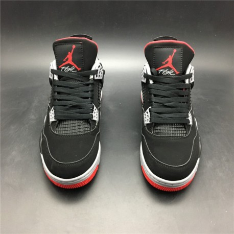 size 40 5a54f c0e58 New Sale 308497-060 Retro 2019 Jordan 4 AIR Jordan Bred 4 Aj Bred Color  Edition Origina