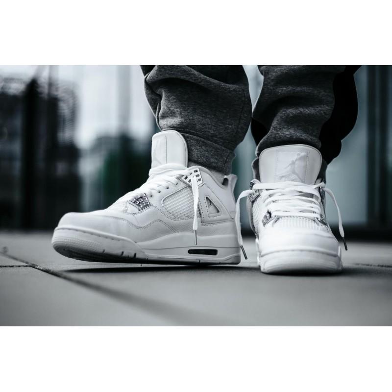 Air Jordan 4 White Pure Money,Air
