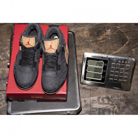 0cd558750d4 New Sale Black Levis Levi S X Jordan 4 Air Jordan 4 Retor Nrg Black Denim  Ao2571-00