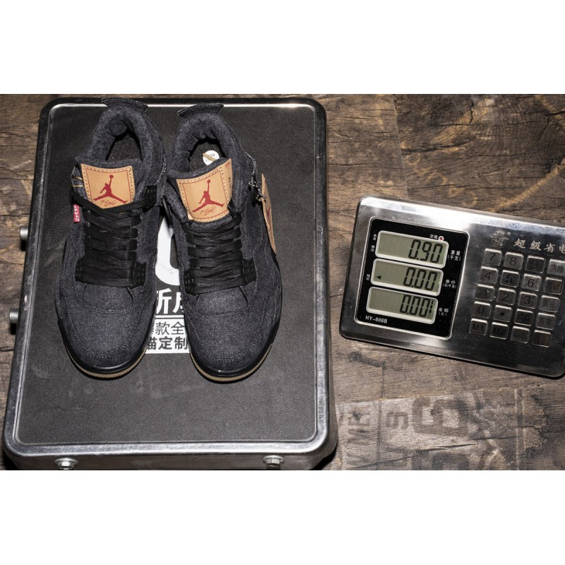 Denim Black,Air Jordan 4 Levis Black