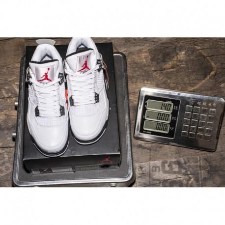 lowest price 1ec8d a0166 New Sale White Cement Jordan 4 Air Jordan 4 Retor OG White Cement 840606-19