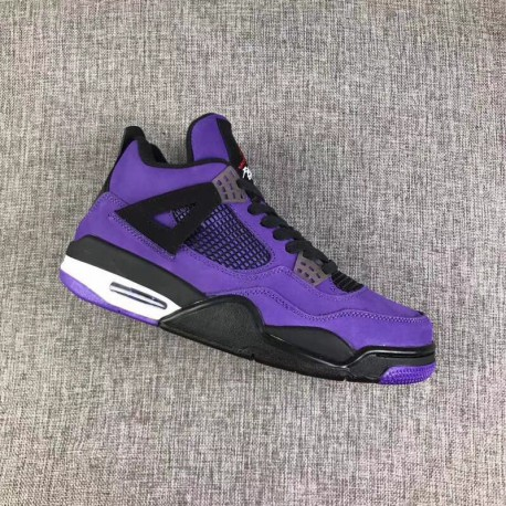 reputable site 1ba3b edd69 Travis Scott Aj4 Stockx,Air Jordan 4 X Travis Scott,Travis Scott x Air  Jordan 4 Today, Travis Scott Again Try on the shoes Viol