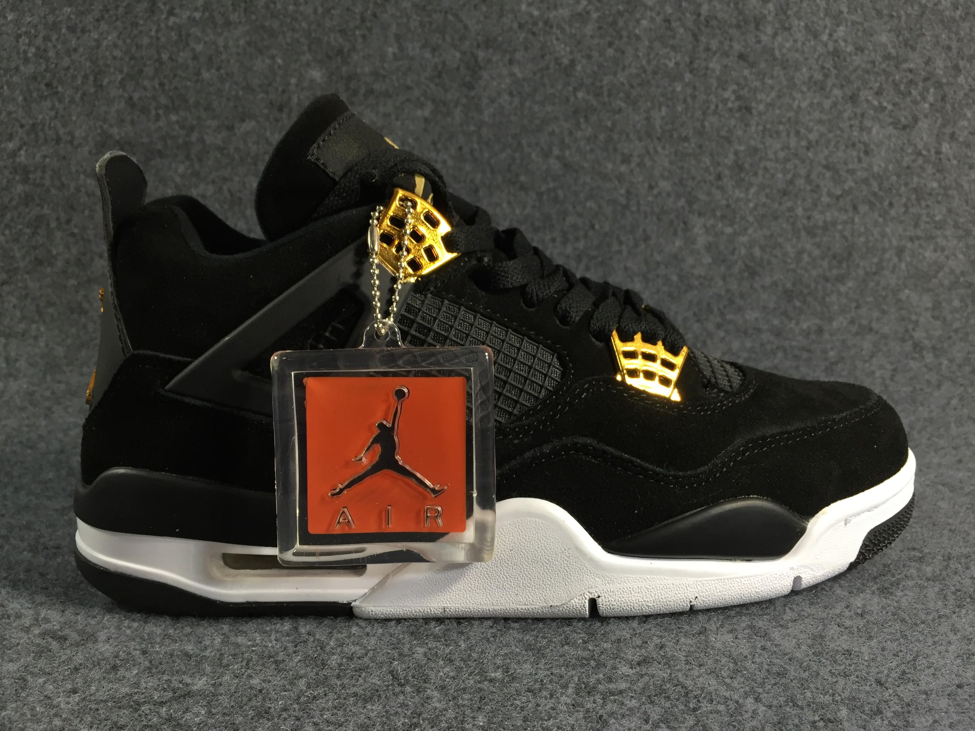 Black CAT Buy,Aj 4 black gold Original