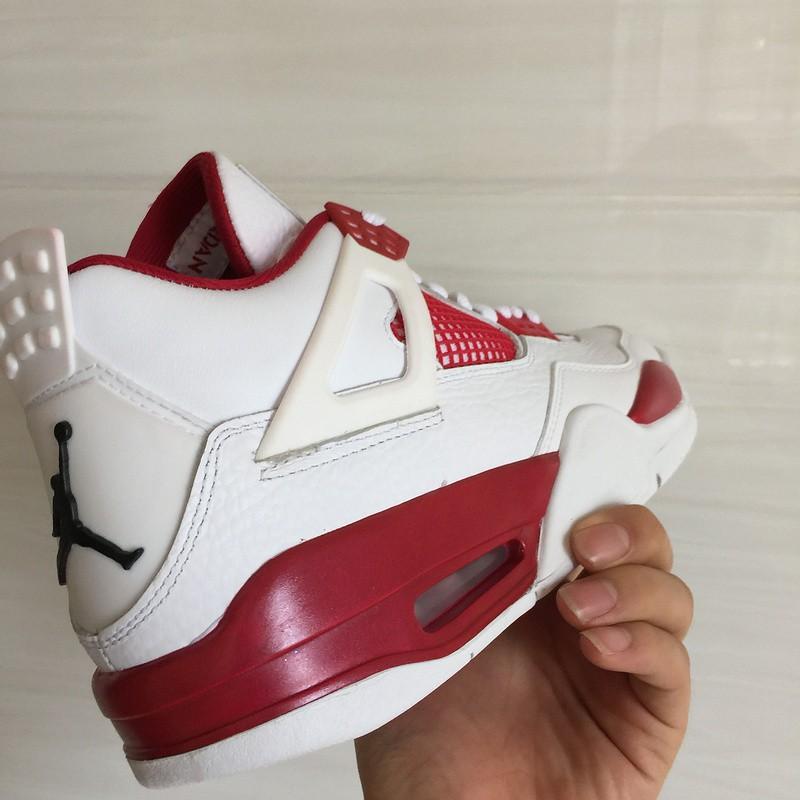 Air Jordan 4 White Red,Nike Air Jordan
