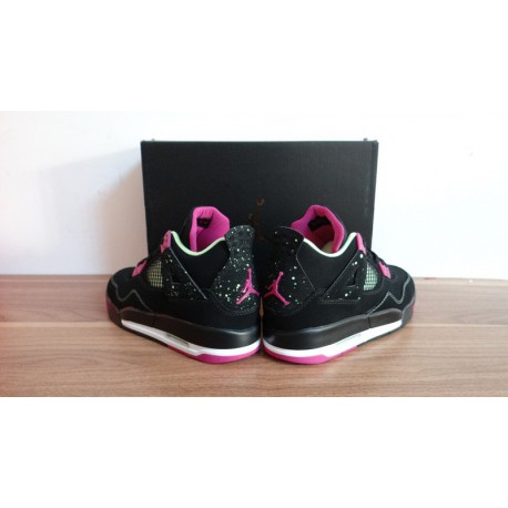 buy online bb09b 9072e Air Jordan 4 Womens,Womens Air Jordan 4,Air Jordan 4 Original Standard AJ4  Black Purple Womens Air Jordan 4 Hei Zi 36 .5 37.5 3