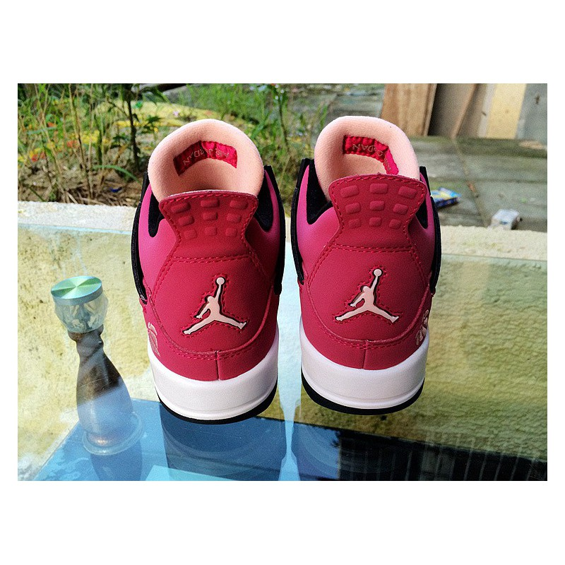 Senado playa Aumentar  Air Jordan 4 Womens Shoes,Womens Air Jordan 4 Retro,Air Jordan 4 AJ4  Valentine's Day GS air jordan IV Jordan 4 AJ4 Womens 48772