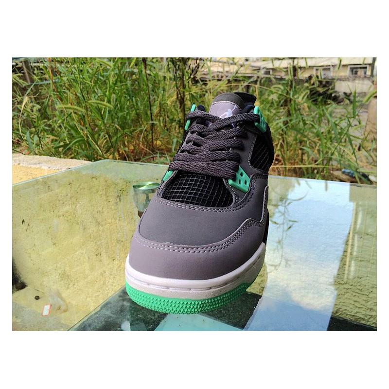 aa98895e3729d6 ... Air Jordan 4 Aj4 Grey Green
