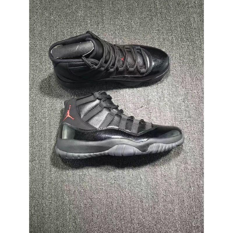 jordan 11 black and red