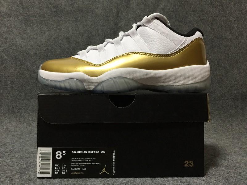 dc115dd4d3b0 Air Jordan 11 Retro Metallic Gold