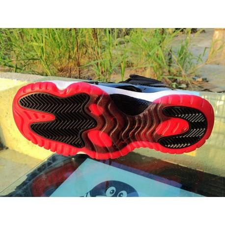 New Sale Air Jordan 11 Bred Women s Air Jordan 11 GS Retro Aj11  Basketball-Shoes 378038- a506e4266127
