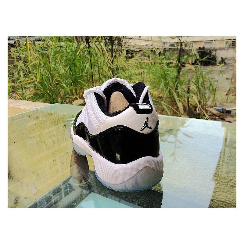 size 40 75fc0 287b1 ... Air Jordan 11 White Black Low Female Air Jordan 11 Low GS Aj11 Womens  Basketball- ...