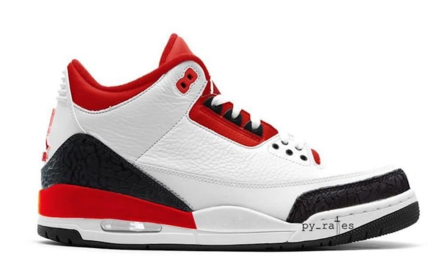 c45fc6f324c0a5 Air Jordan 3s Fire Red