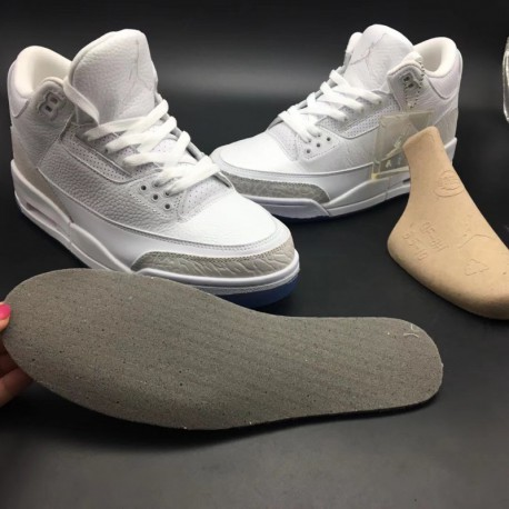 the best attitude a210c 95178 New Sale 136064-111 air jordan 3 pure whit
