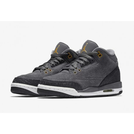 sports shoes b86a8 31ce5 Air Jordan 3 Blue Suede,Air Jordan 3 Fear For Sale,Air Jordan 3 GS AJ3 fear  Suede cool gray Suede anthracite 441140-035