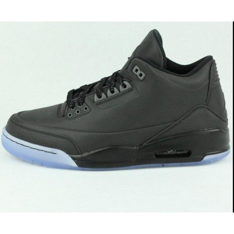 d83be144c35 New Sale Nike Air Jordan 5 Lab3 LAB3 Whole Black Aj3 3m Underply Visible  Outside 631603-01