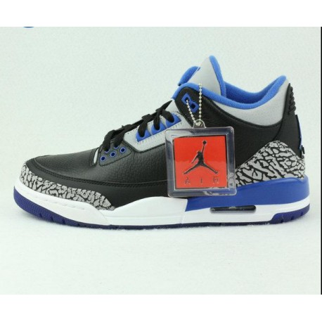 e67961c1c6df New Sale Nike air jordan 3 sport blue aj3 sports blue black blue 136064-00