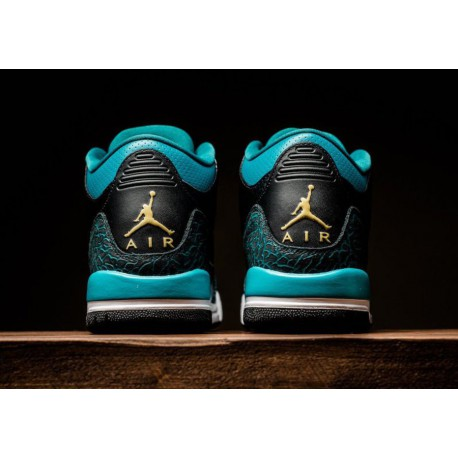 buy online 5c4ae ff7cf New Sale Deadstock   Air Jordan 3 Girls  Exclusive Air Jordan 3 GS Rio Teal  441140-