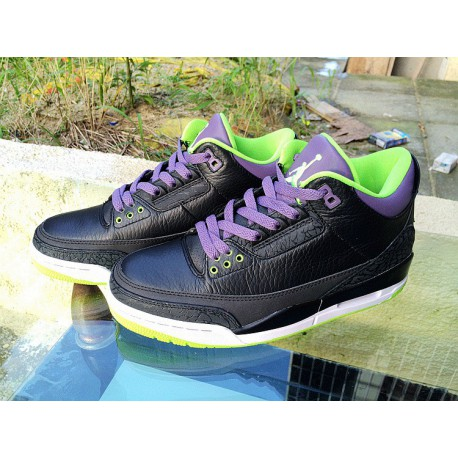 detailed look c3fce c9437 Air Jordan Retro 3 White Green Grey,Air Jordan 3 Retro Black Cement  Sale,Air Jordan 3 Clown Black Green Air Jordan 3 RETRO AJ3