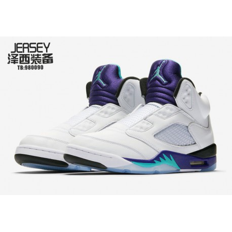 bf92d0016fe626 New Sale Air Jordan 5 Nrg Will Smith Aj5 Without Shoes With Purple Grapes  AV3919-13