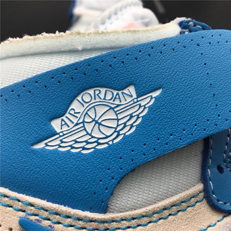 58b379bac0f81c ... Aq0818-148 OG Edition Womens North Carolina Colorway OFF-WHITE X Air  Jordan 1 ...