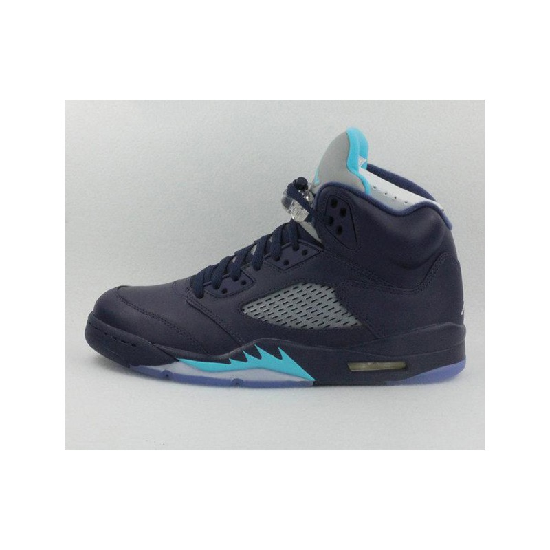 Air Jordan Retro 5 Midnight Blue,Nike