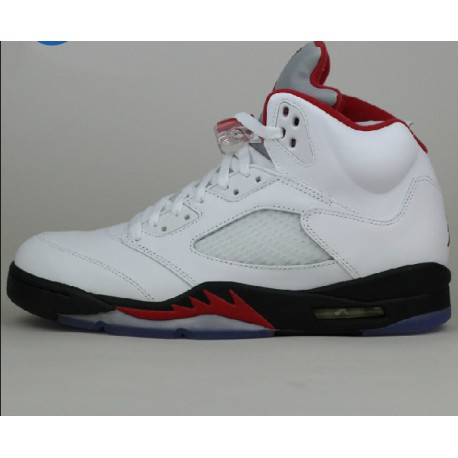 new concept a3c11 8a047 New Sale Nike air jordan 5 retro white bred rukawa maple 136027-10