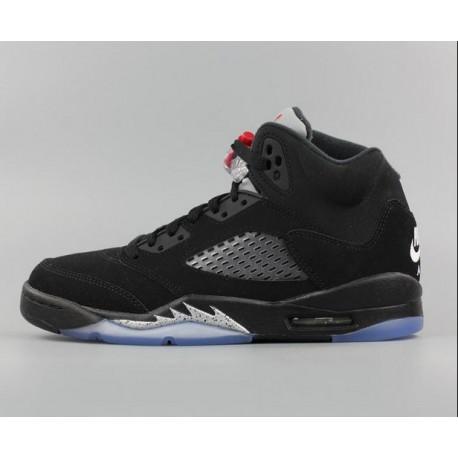the latest 8b381 7554d Buy Air Jordan Retro 5 Black Metallic Silver,Nike Air Jordan 3lab5 Black  Metallic Silver,Nike Air Jordan 5 Metallic Black AJ5 B