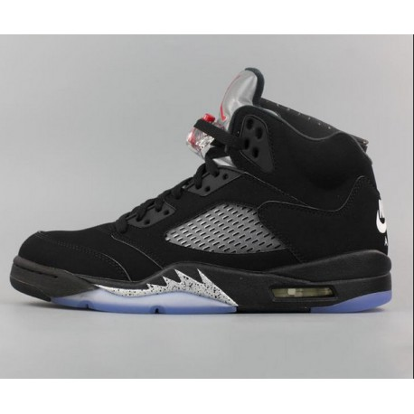 online retailer 62246 75b0e Air Jordan 5 Black Metallic Silver,Nike Air Jordan 5 Retro Black Metallic  Silver,Nike Air Jordan 5 OG Metallic Black AJ5 Black