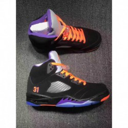 da174652528 Air Jordan 5 Black Orange Pink,Air Jordan 5 Retro Black Blue Orange ...