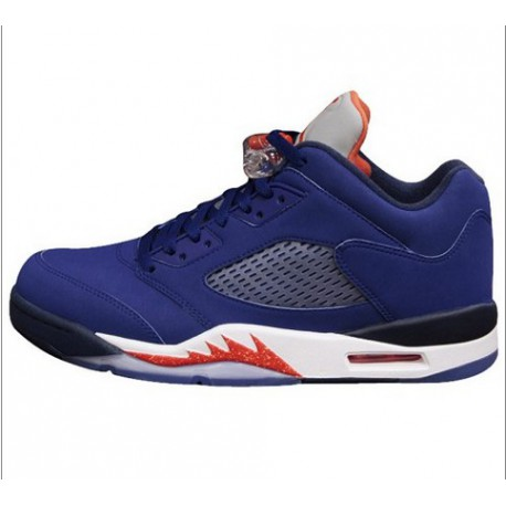 hot sale online b140d 680db Air Jordan 5 Retro Knicks,Nike Air Jordan 5 Low Knicks,Pre-sale / Air  Jordan 5 Low Knicks AJ5 Knicks 819171-417
