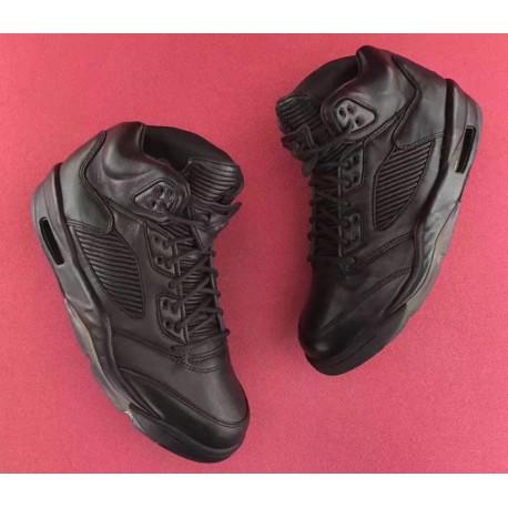 promo code 351ac f516f Air Jordan 5 Retro Premium Triple Black,Air Jordan Retro 5 Triple  Black,Black Soul Air Jordan 5 Premium Triple Black 881432-010