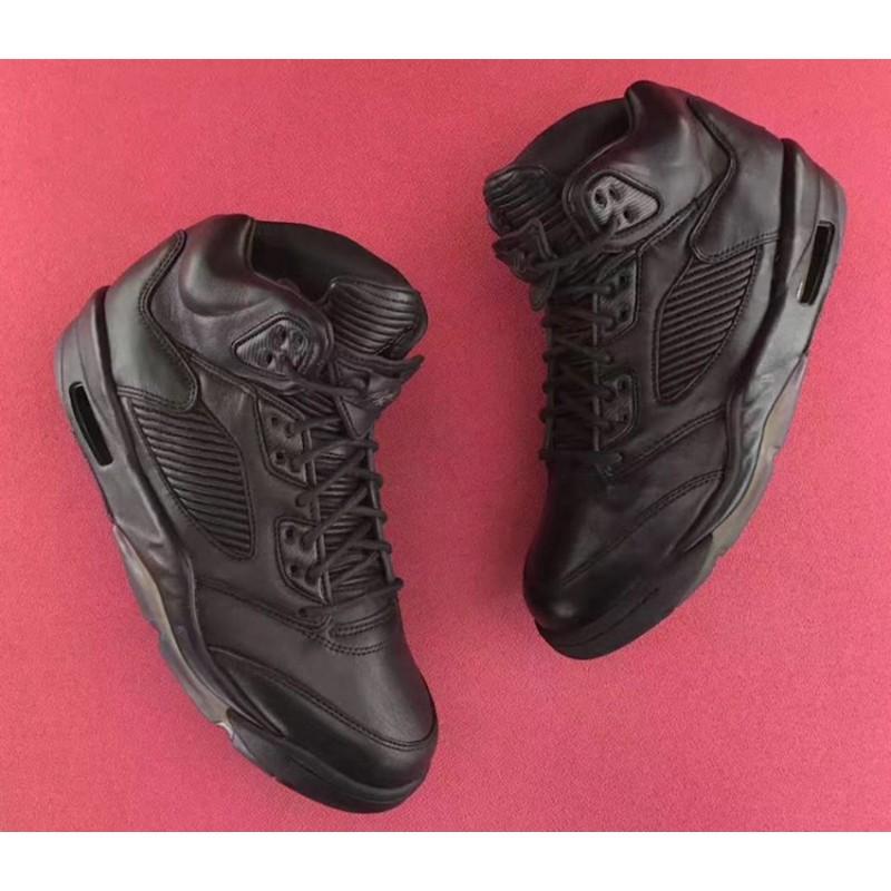 Air Jordan 5 Retro Premium Triple Black